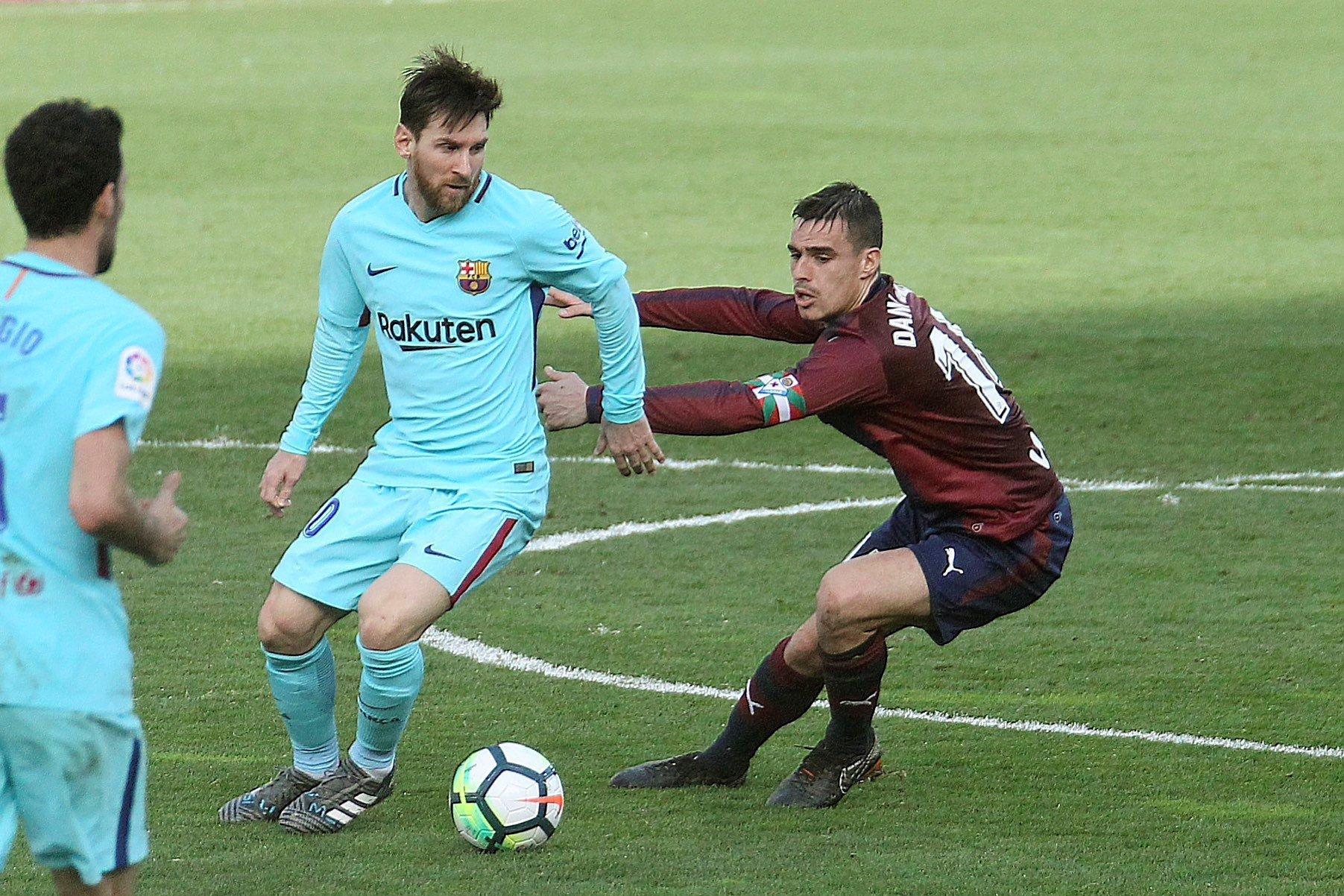 Messi Eibar Barça Ipurua EFE