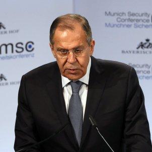 Sergei lavrov ministre rus EFE