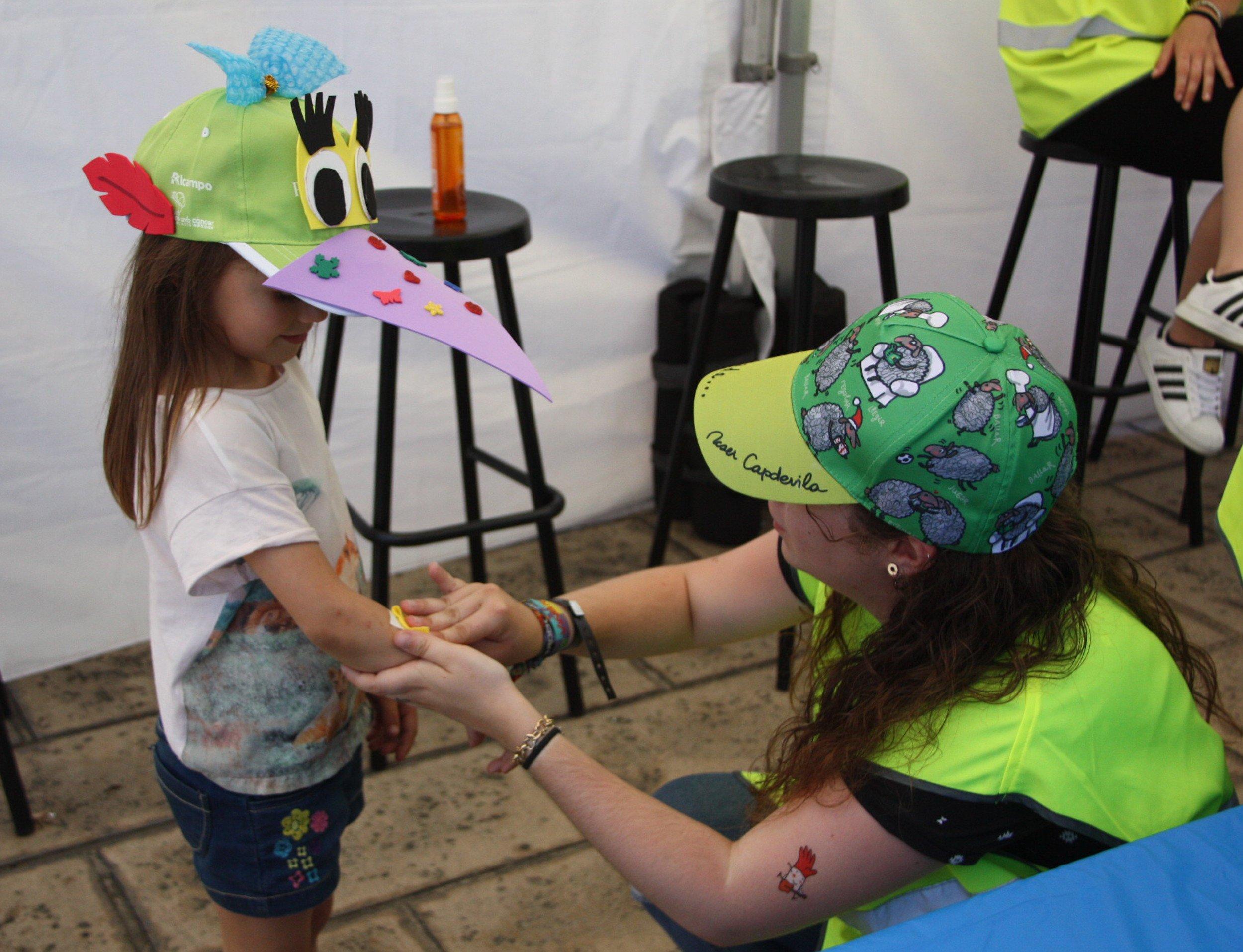 festa càncer infantil posat la gorra ACN