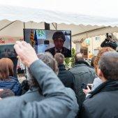 puigdemont inaugura fira Twitter   canalajuntament
