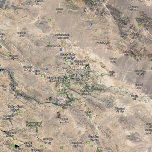 Iran google maps