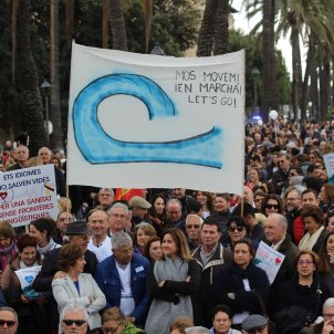 Manifestació Palma contra el català Europa Press