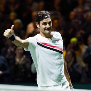 Roger Federer Tennis Efe
