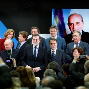 Mariano Rajoy - acte Jorge Fernández Díaz - EFE
