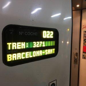 AVE Madrid Barcelona Marta EM
