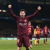 Messi Chelsea Barça Champions Efe