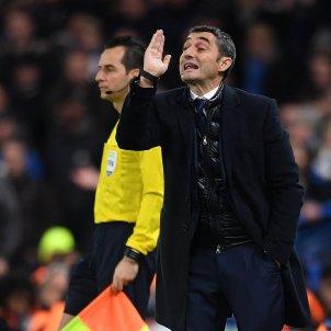 Ernesto Valverde Chelsea Barça Champions Efe