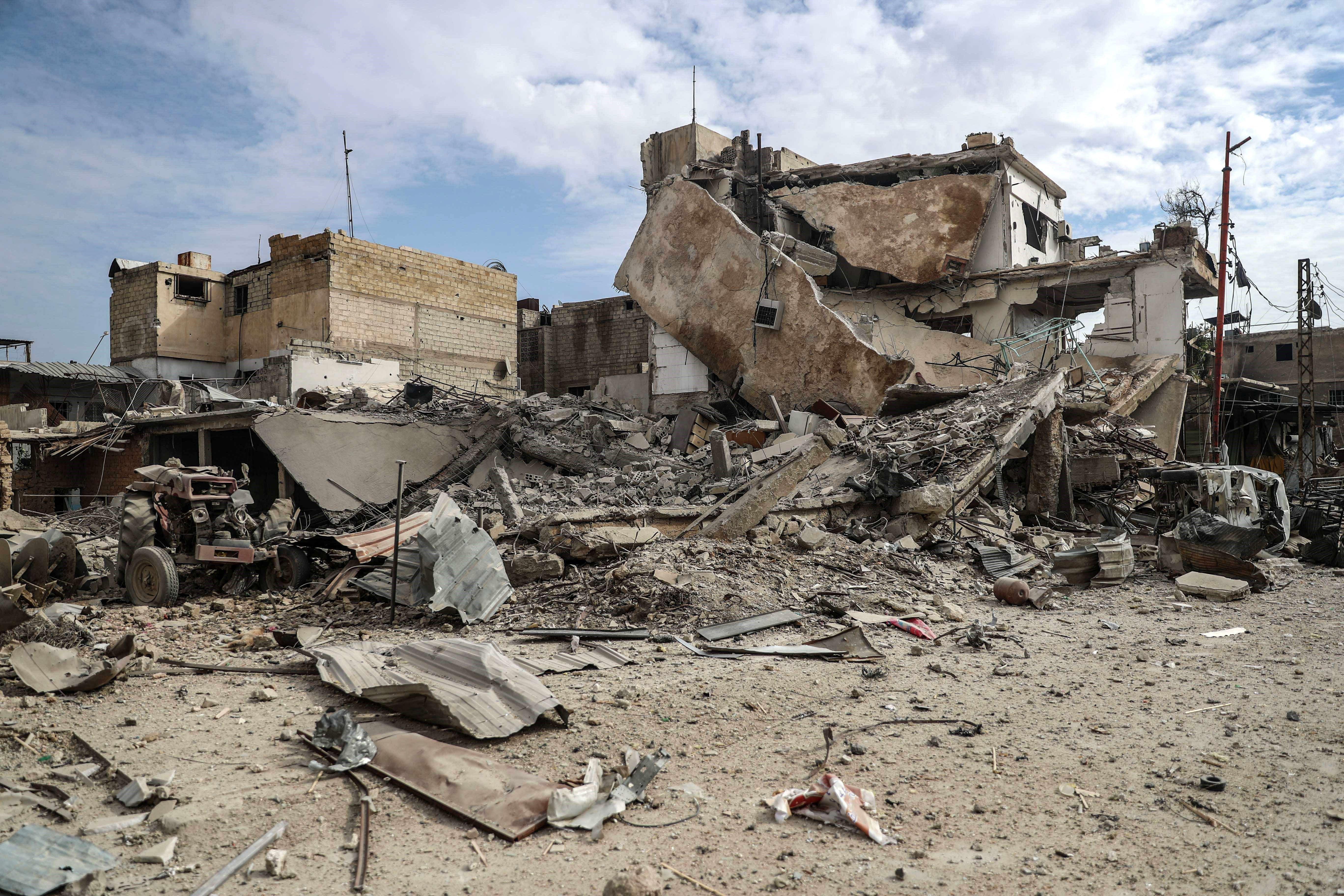 bombardejos siria efe