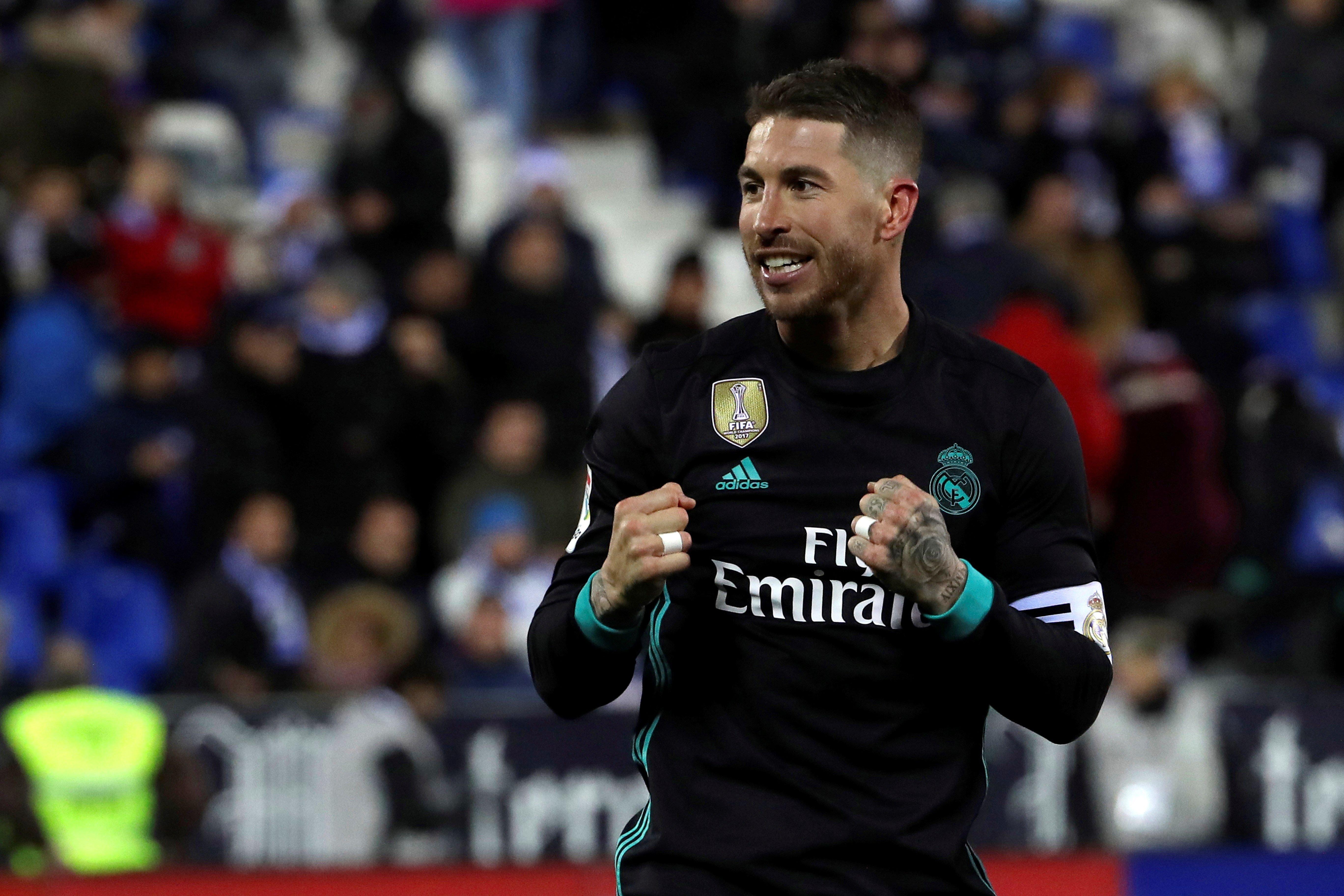Sergio Ramos Leganés Reial Madrid Efe