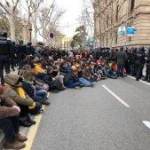 antiavalots encerclen CDR davant TSJC   Nicolas Tomás
