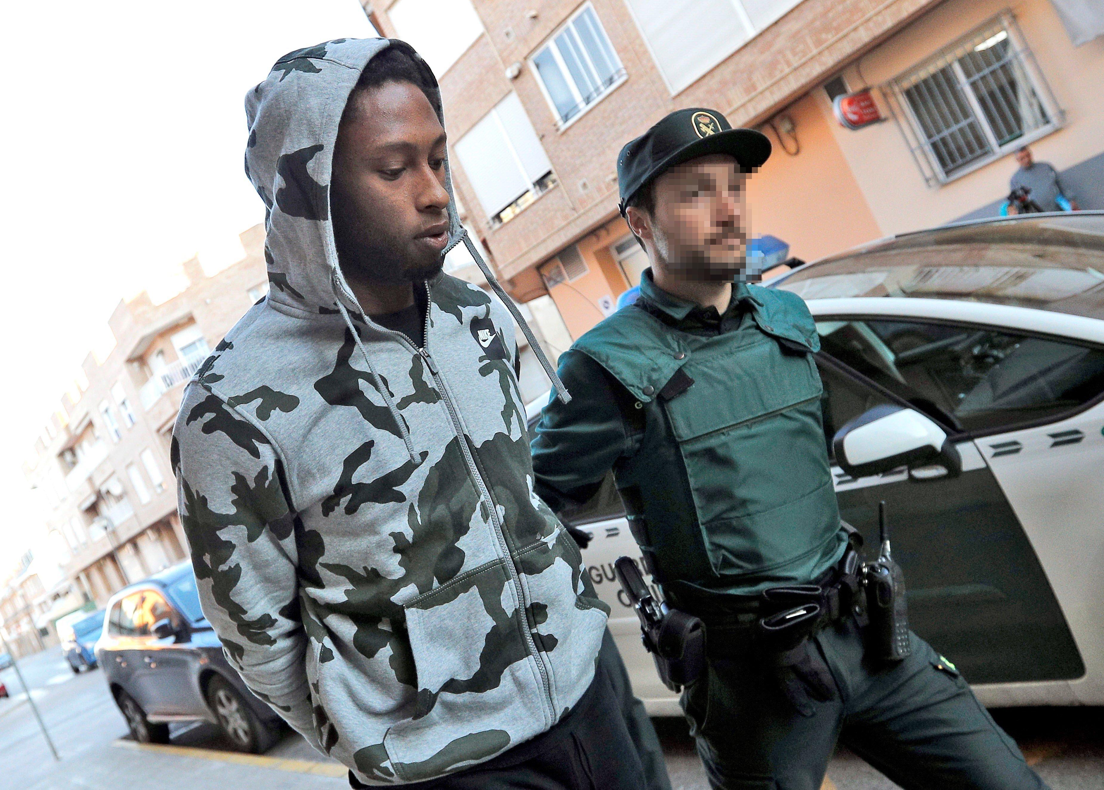 Ruben Semedo detenció Vila real   EFE