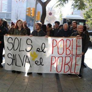 Manifestació Ciutat Justicia CDR / ACN