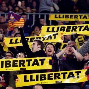 Llibertat presos polítics Barça Girona Camp Nou Efe