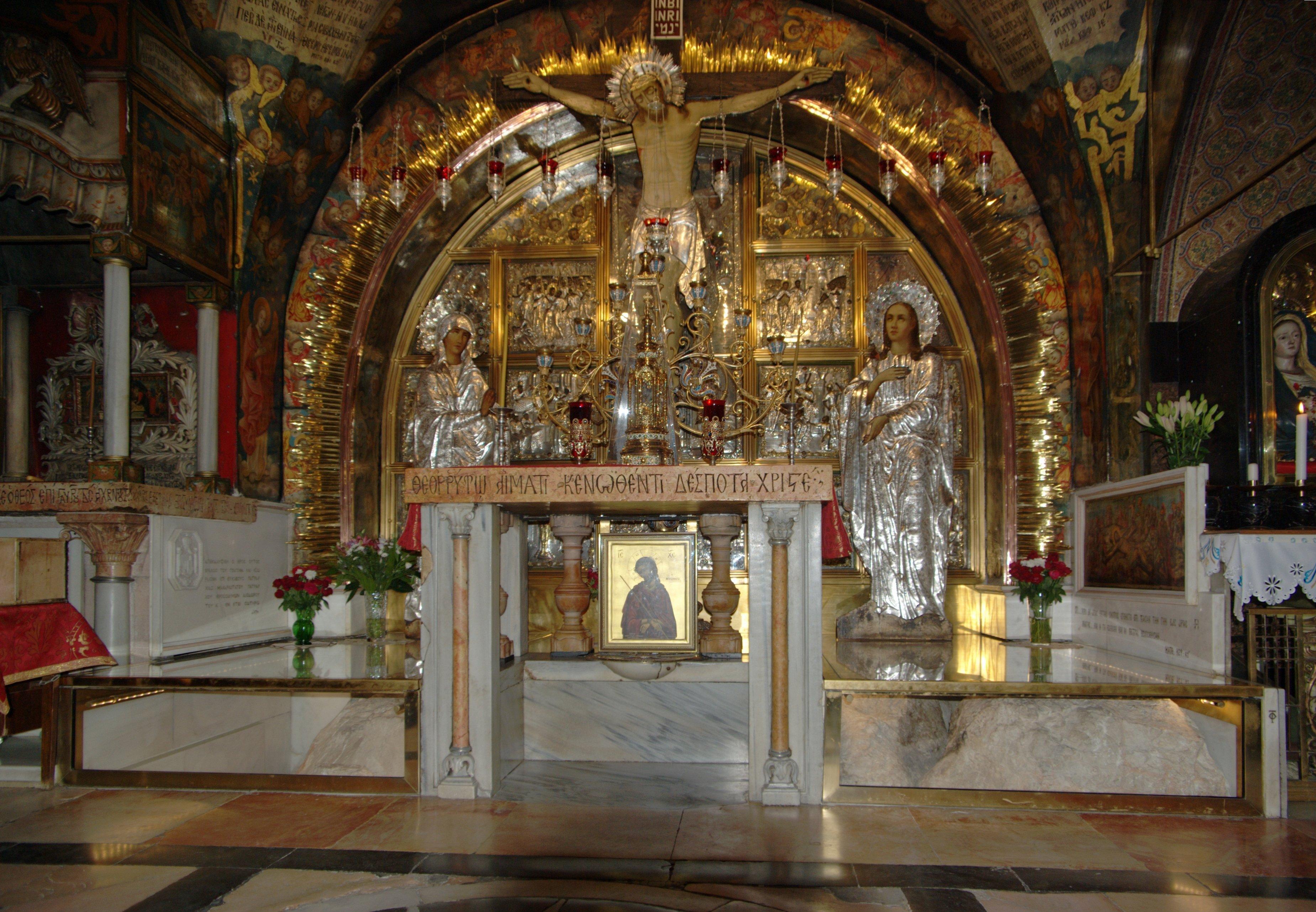 Jerusalem Sant Sepulcre Berthold Werner
