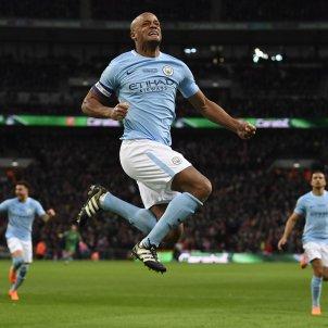 Kompany Manchester City Arsenal EFE