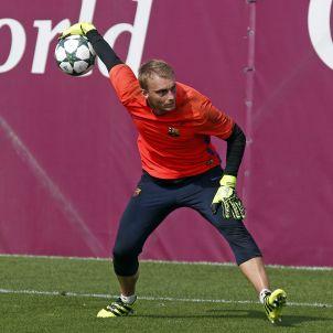 Cillessen entrenament Barça FCB