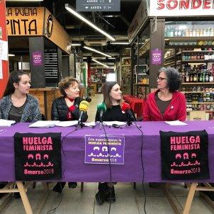 Dones vaga feminista EuropaPress