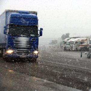 Camió nevada Catalunya / ACN