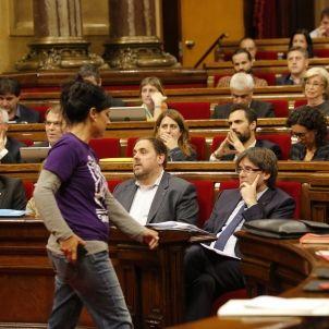 Anna gabriel Puigdemont Questio confiança - Sergi Alcazar