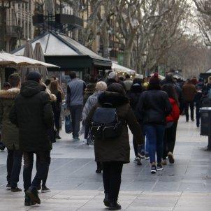 turistes rambla barcelona