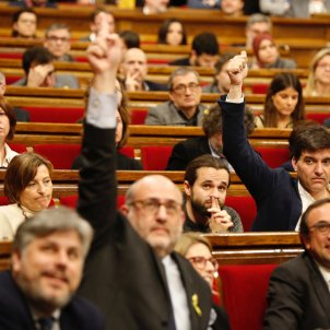 ERC JxCAT Eduard Pujol Sergi Sabrià / Sergi Alcàzar