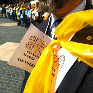 Manifestació funcionaris presos foto d'Assemblea en Defensa de les Institucions Catalanes