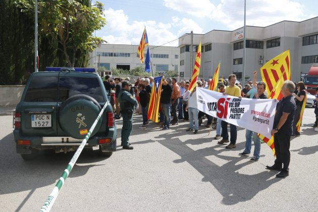 Guardia Civil Bigues Riells referendum 1 O ACN