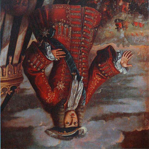 Retrat de Felip V (1707). Font Museu de l'Almodí. Xàtiva (País Valencià)