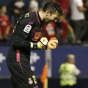 Diego Lopez Osasuna Espanyol Lliga Santander EFE
