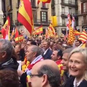 Manifestació Tabàrnia TV3