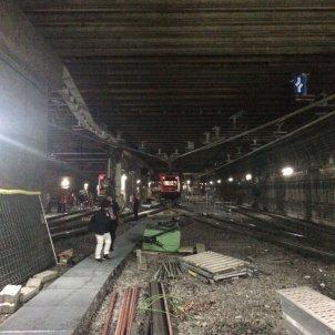 tren fgc aturat vies sarria - Vicenç Gavaldà