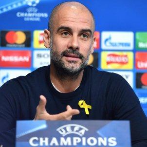 Pep Guardiola roda premsa Man City Basilea Champions   EFE