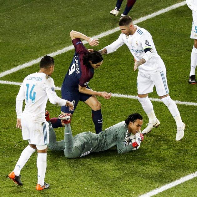Cavani Madrid PSG   EFE