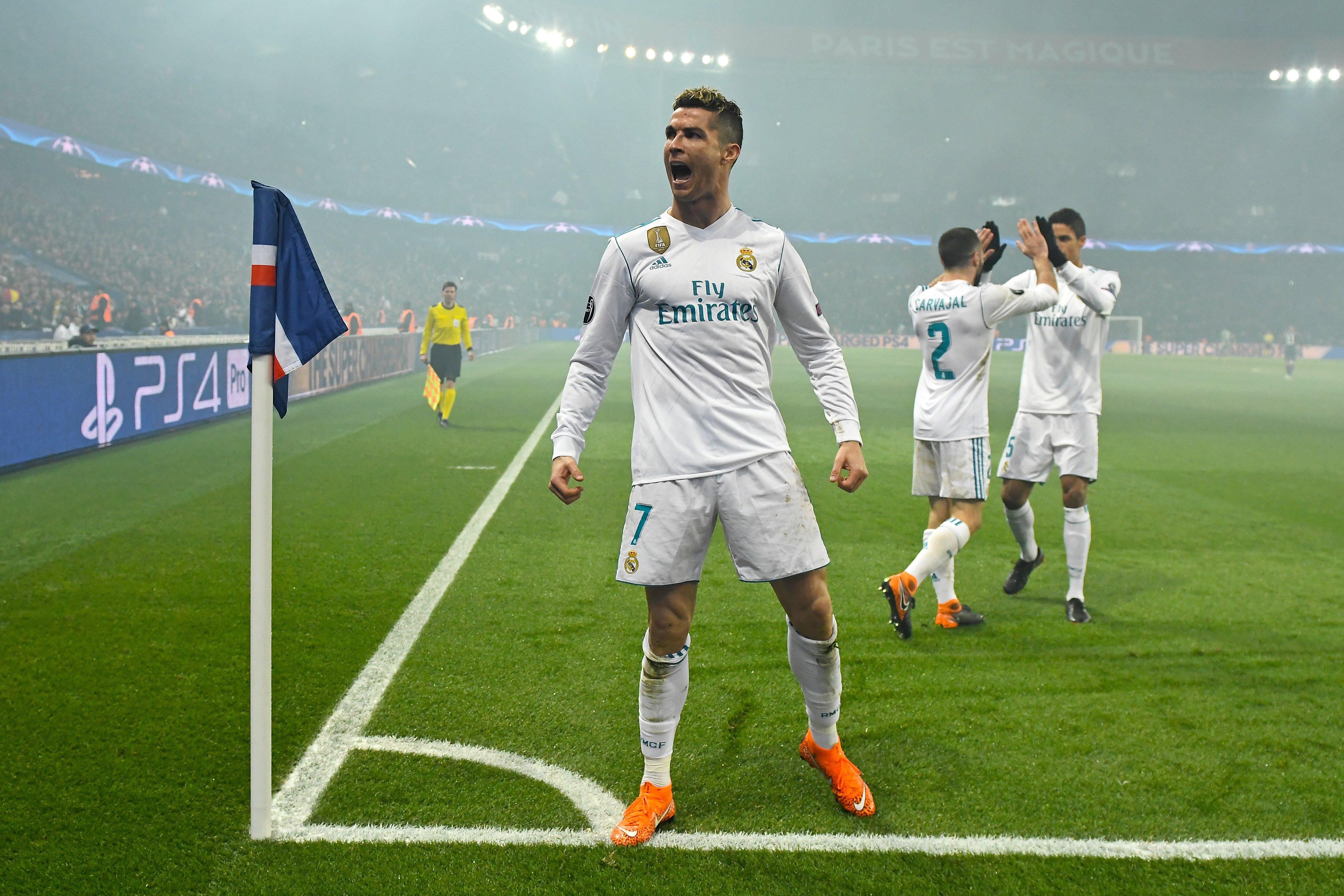 Cristiano Ronaldo gol Madrid PSG   EFE