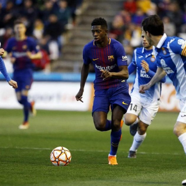 Dembélé Barça Espanyol FC Barcelona