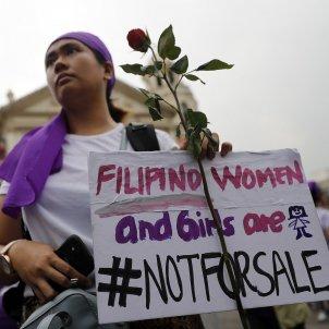 Dia de la dona Filipinas EFE