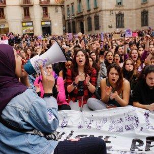 vaga feminista sant jaume 8m sergi alcazar (7)