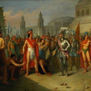 conquistadores nacionalisme espanyol Prisión de Guatimocín  carlos esquivel ribas (Museo de Zaragoza i Prado) wikipedia