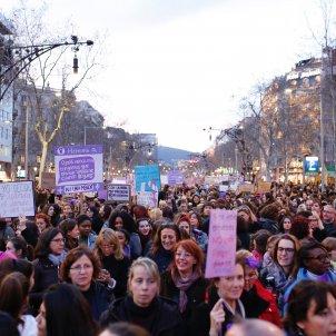 Manifestació feminista Barcelona - Sergi Alcàzar