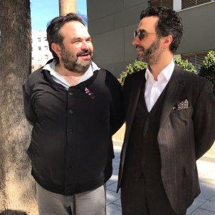 Jordi Galves amb el seu advocat