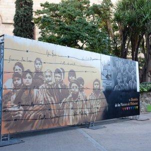 UB mural víctimes holocaust