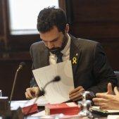 Roger Torrent Espejo Saavedra Mesa Parlament - Sergi Alcàzar
