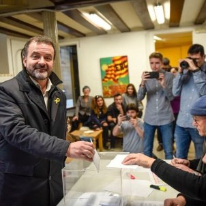 Alfred Bosch vota primaries Bcn Europa Press
