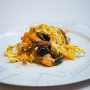 Amanida de xató- plats catalans