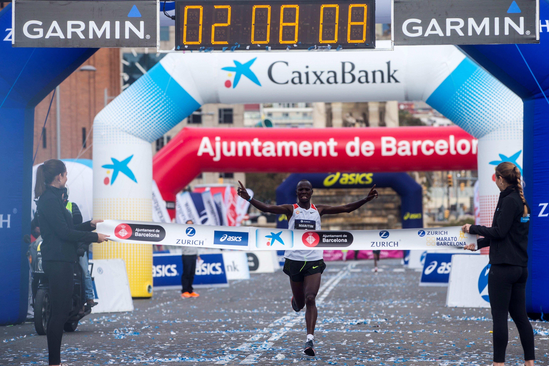 Anthony Maritim Marató Barcelona 2018 Efe