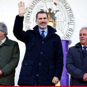 Rei Felip VI bandera espanya  EFE