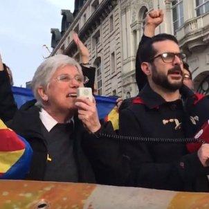 Ponsatí manifestació Londres