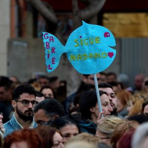 asesinato manifestación gabriel madre desaparición / Efe