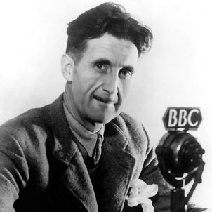 George orwell BBC wikimèdia commons
