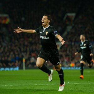 Ben Yedder Sevilla Manchester United Champions Efe